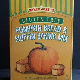 Trader Joe's Gluten Free Pumpkin Bread and Muffin Baking Mix