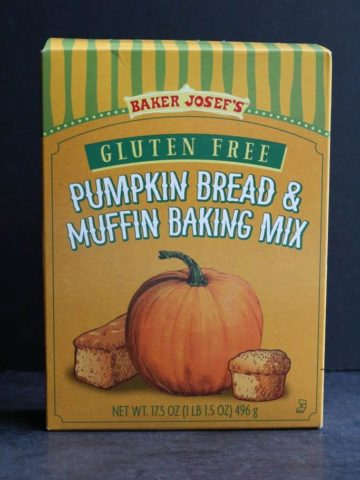 Trader Joe's Gluten Free Pumpkin Bread and Muffin Baking Mix