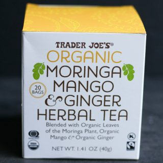 Trader Joe's Organic Moringa Mango and Ginger Herbal Tea