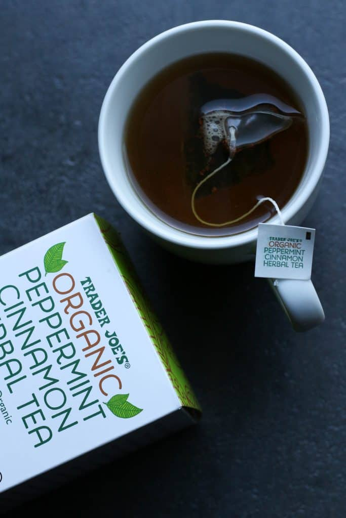 Trader Joe's Organic Peppermint Cinnamon Herbal Tea