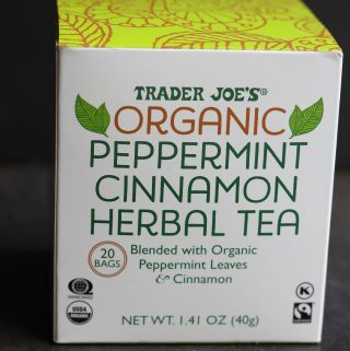 Trader Joe's Organic Peppermint Cinnamon Herbal Tea