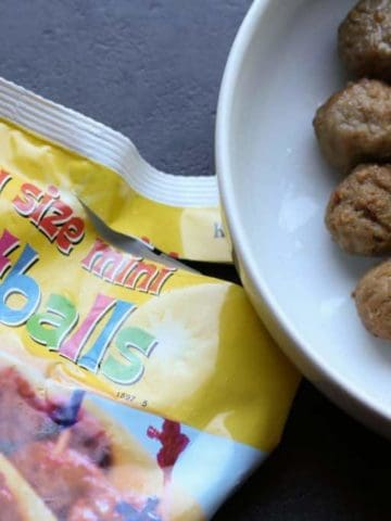 Trader Joe's Party Size Mini Meatballs
