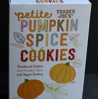 Trader Joe's Petite Pumpkin Spice Cookies
