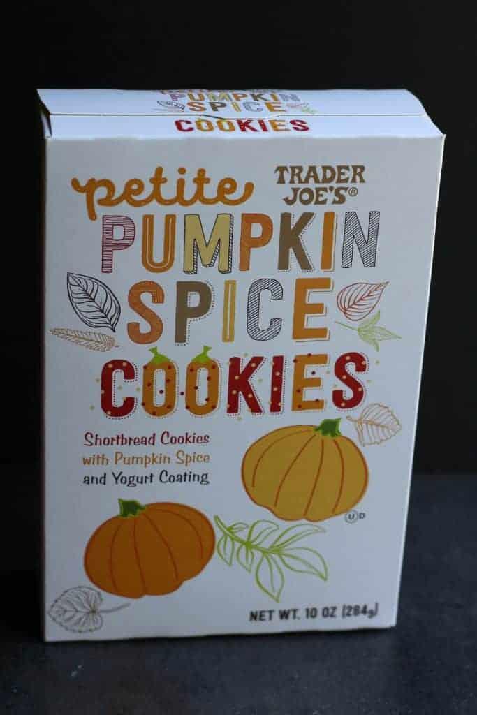 Trader Joe's Petite Pumpkin Spice Cookies unopened