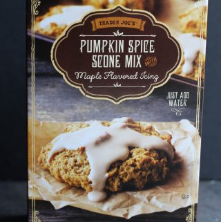 Trader Joe's Pumpkin Scone Mix