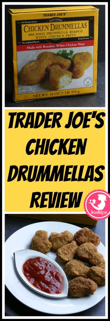 Trader Joe's Chicken Drummellas review. Want to know if this is something worth putting on your shopping list from Trader Joe's? All pins link to BecomeBetty.com where you can find reviews, pictures, thoughts, calorie counts, nutritional information, how to prepare, allergy information, and price.