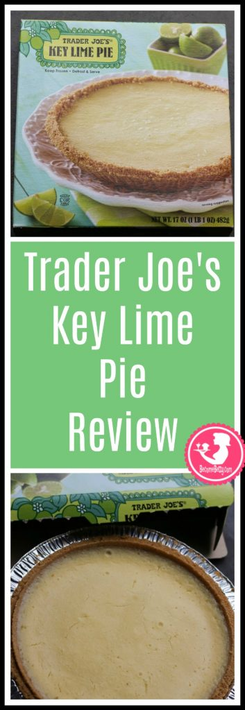 Trader Joe's Key Lime Pie review. Want to know if this is something worth putting on your shopping list from Trader Joe's? All pins link to BecomeBetty.com where you can find reviews, pictures, thoughts, calorie counts, nutritional information, how to prepare, allergy information, and price.