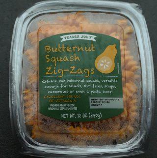 Trader Joe's Butternut Squash Zig Zags