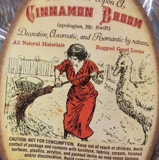 Trader Joe's Cinnamon Broom