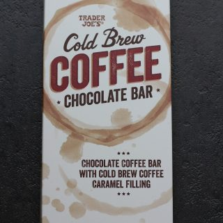 Trader Joe's Cold Brew Coffee Chocolate Bar