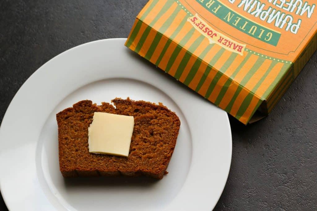 Trader Joe's Gluten Free Pumpkin Bread and Muffin Mix