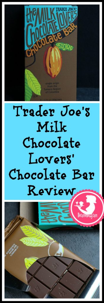 Trader Joe's Milk Chocolate Lovers Chocolate Bar review. Each review features pictures, product and nutritional information including packaging, allergy information, and pricing.