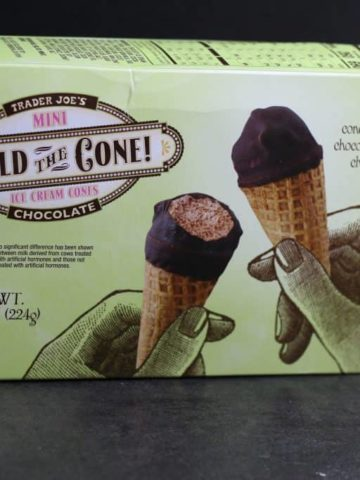 Trader Joe's Chocolate Hold the Cone! Mini Ice Cream Cones