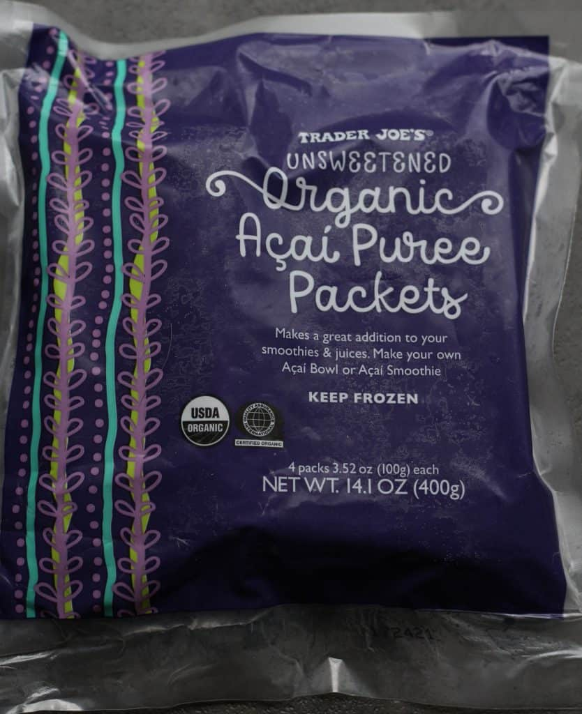 Trader Joe's Organic Acai Puree Packets