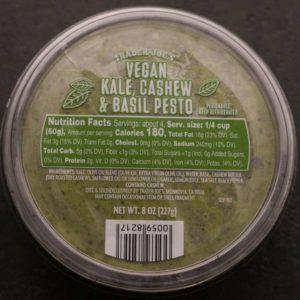 Trader Joe's Vegan Kale Cashew Basil Pesto
