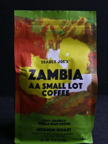 Trader Joe's Zambia AA Small Lot Coffee