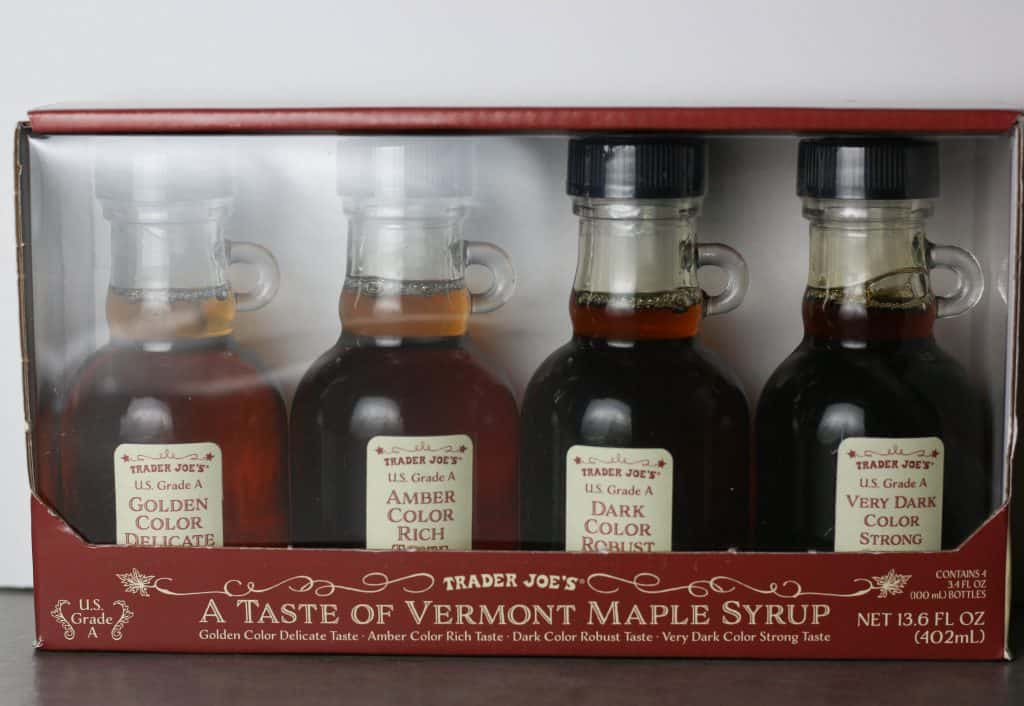 Trader Joe's A Taste of Vermont Maple Syrup Gift set brand new
