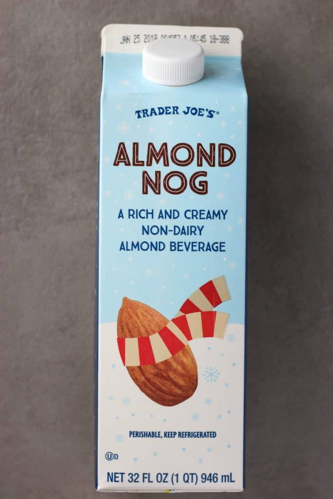 Trader Joe's Almond Nog