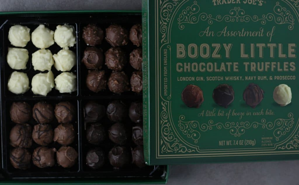 Trader Joe's An Assortment of Boozy Little Chocolate Truffles
