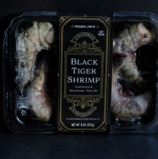 Trader Joe's Black Tiger Shrimp
