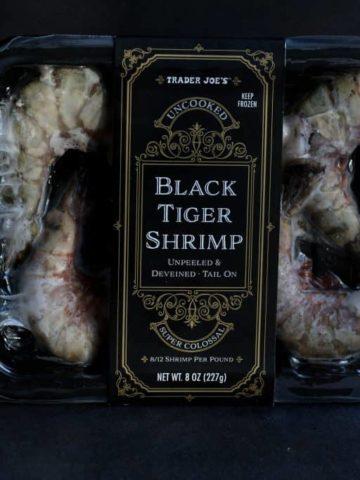 Trader Joe's Black Tiger Shrimp