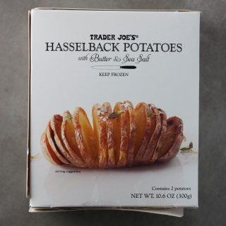 Trader Joe's Hasselback Potatoes