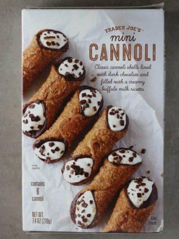 Trader Joe's Mini Cannoli