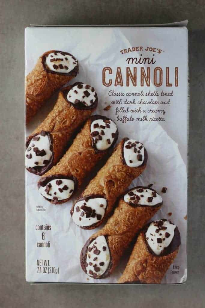 Trader Joe's Mini Cannoli