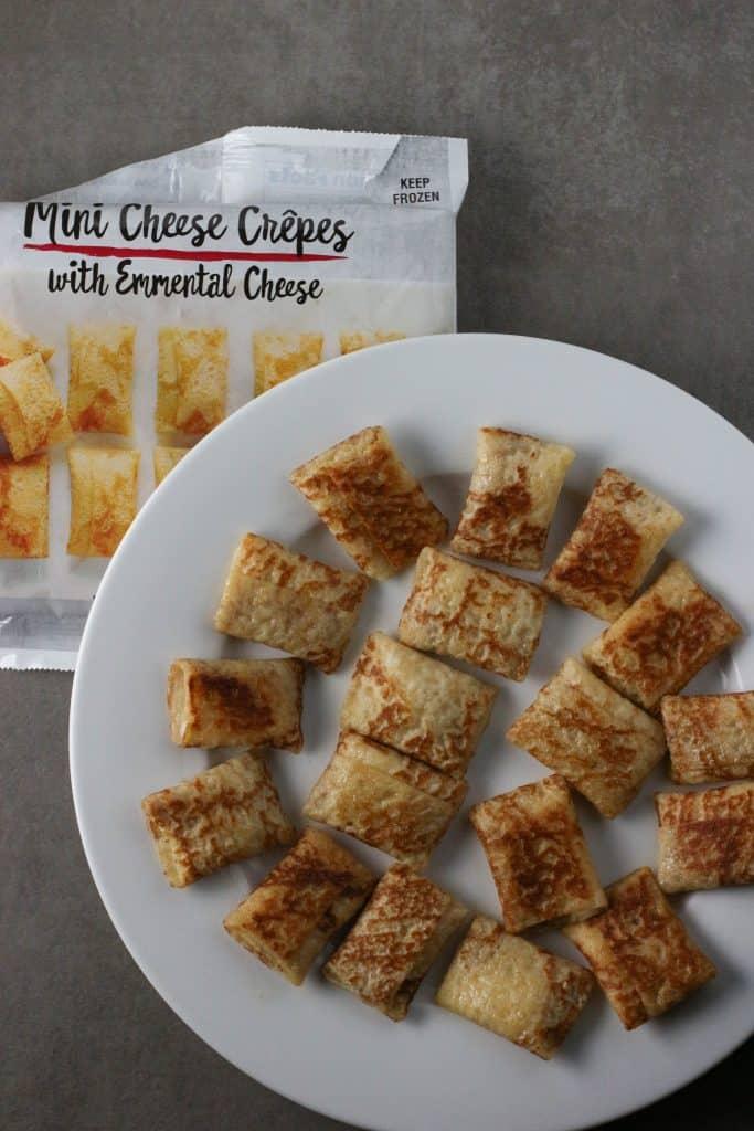 Trader Joe's Mini Cheese Crepes