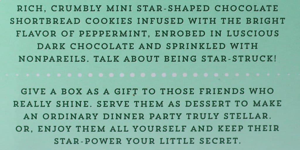 Trader Joe's Mini Dark Chocolate Mint Stars