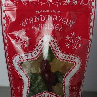 A new bag of Trader Joe's Scandinavian Tidings