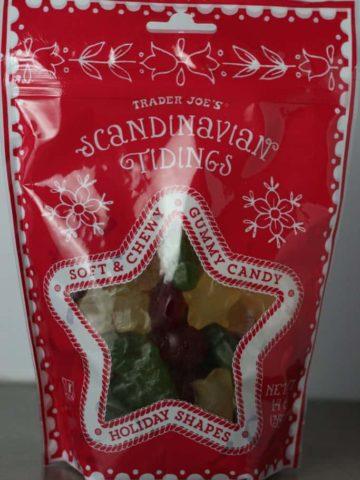 A new bag of Trader Joe's Scandinavian Tidings