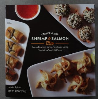 Trader Joe's Shrimp and Salmon Trio