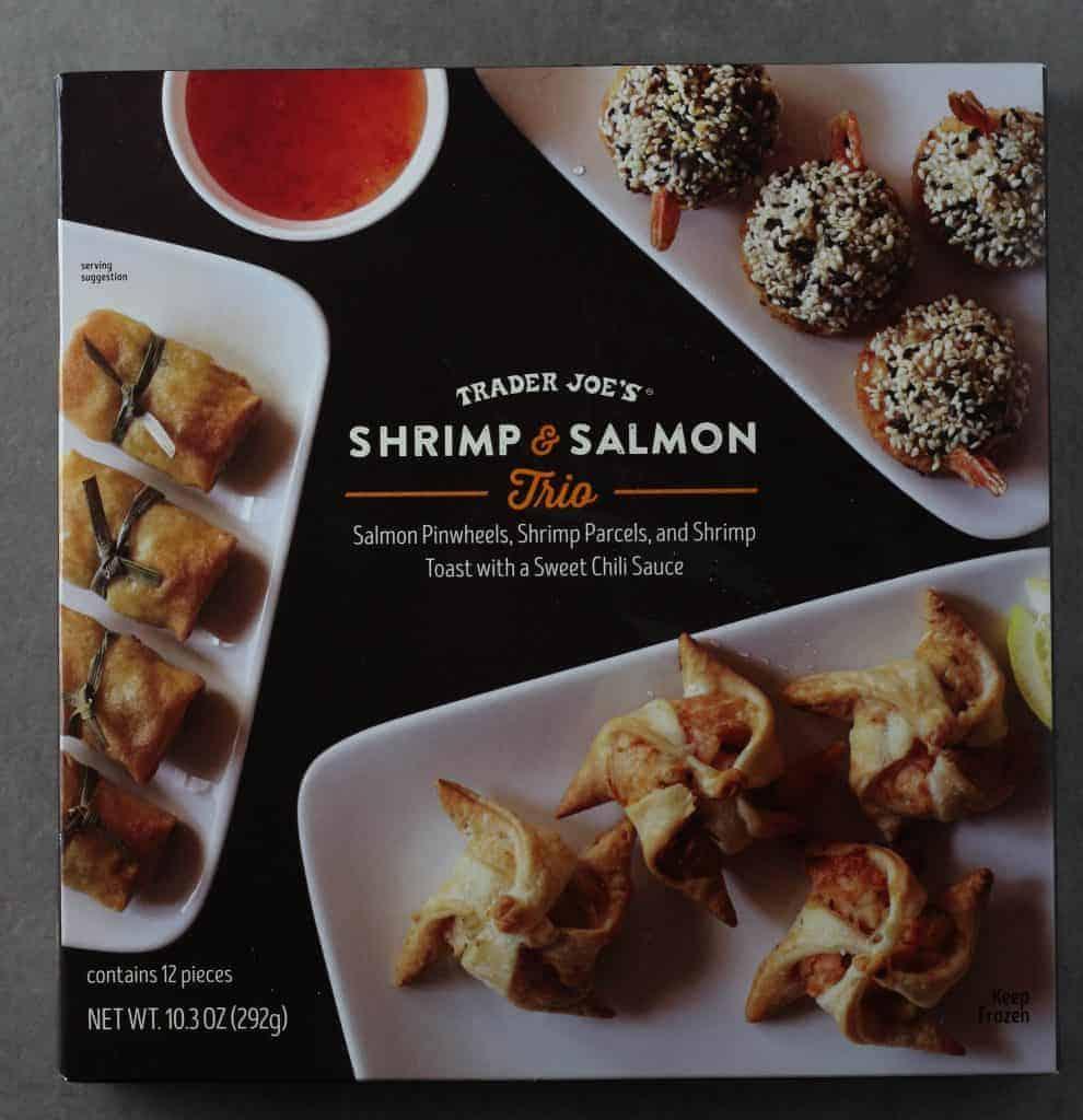 Trader Joe's Shrimp and Salmon Trio