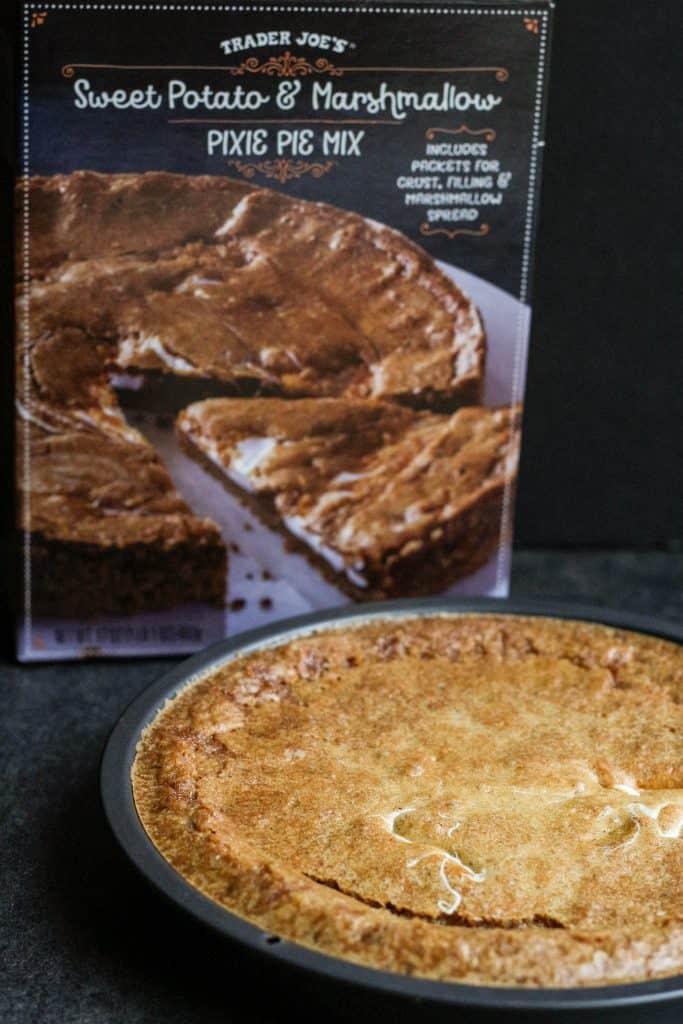 Trader Joe's Sweet Potato and Marshmallow Pixie Pie Mix