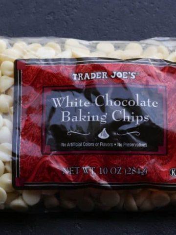 Trader Joe's White Chocolate Baking Chips