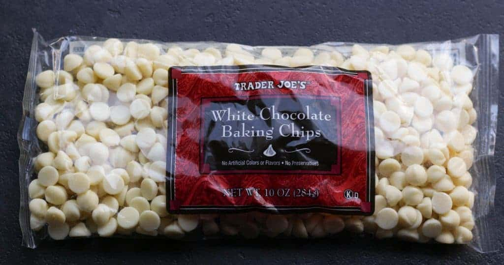 Trader Joe's White Chocolate Baking Chips