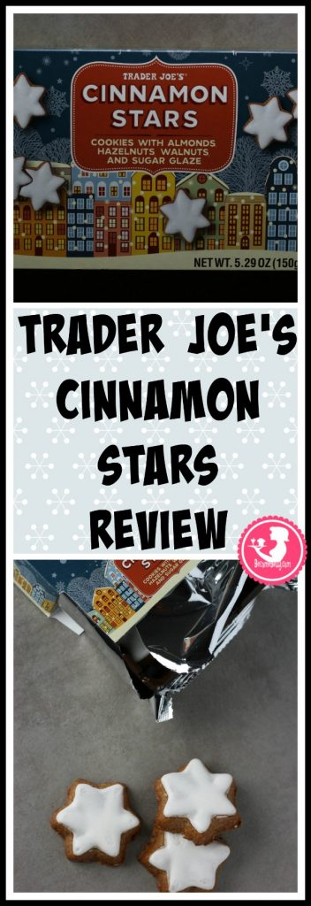 Trader Joe's Cinnamon Stars review is posted. Each review features pictures, product and nutritional information including packaging, allergy and ingredient information, and pricing.