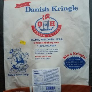 Trader Joe's Almond Danish Kringle