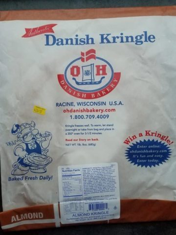 Trader Joe's Almond Kringle Package