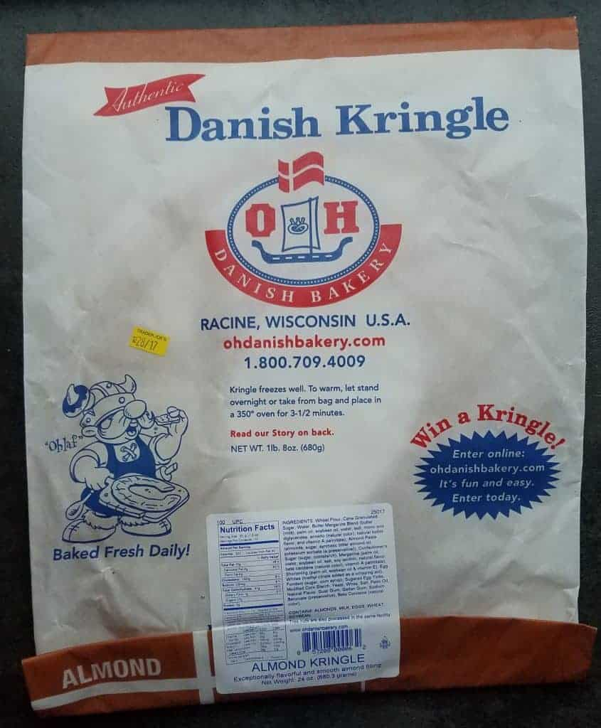 Trader Joe's Almond Kringle Package