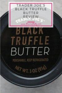 Pinterest Image for Trader Joe's Black Truffle Butter review