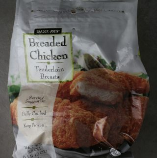 Trader Joe's Breaded Chicken