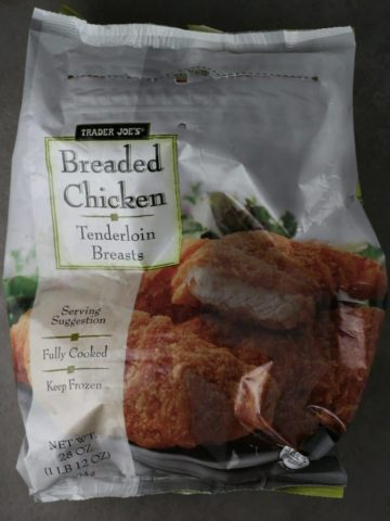 Trader Joe's Breaded Chicken bag