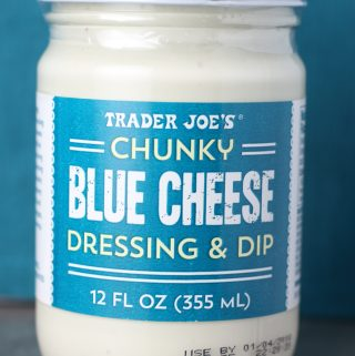 Trader Joe's Chunky Blue Cheese Dressing and Dip package