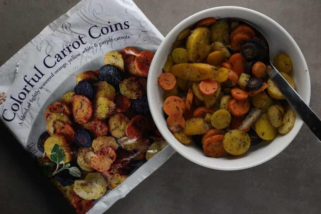 Trader Joe's Colorful Carrot Coins