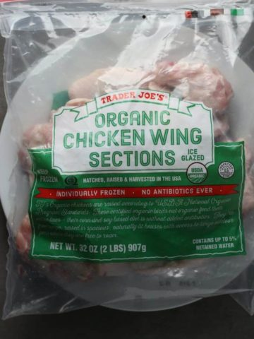 Trader Joe's Organic Chicken Wing Sections
