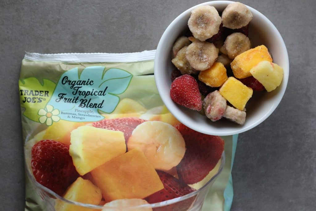 Trader Joe's Organic Tropical Fruit Blend