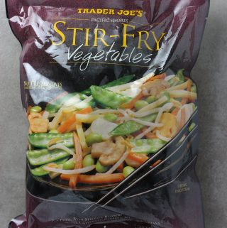 Trader Joe's Stir Fry Vegetables