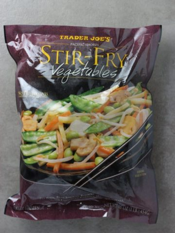 Trader Joe's Stir Fry Vegetables bag